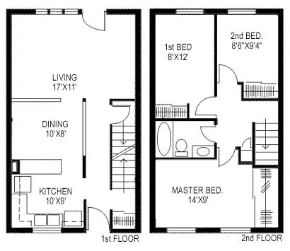 Design And Layout on 2 story house plans